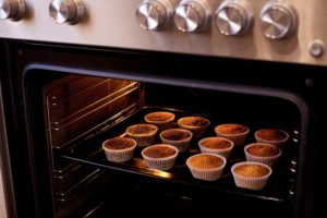 Oven baked cupcakes