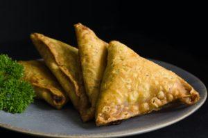 Spicy Indian Samosas